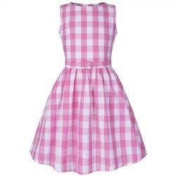 画像1: ☆Lindy Bop☆Children's Audrey Pink Picnic Check 5〜6歳用
