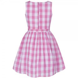 画像2: ☆Lindy Bop☆Children's Audrey Pink Picnic Check 5〜6歳用
