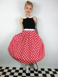 ☆Lindy Bop☆Emmy Black Red Dress 5号