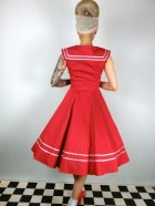 他の写真3: ☆H&R☆Red Sailor Long Dress 15号