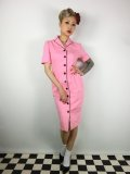 ☆Lindy Bop☆Avalon Pink Wiggle Dress 7号