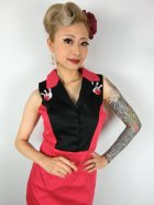 他の写真2: ☆Lindy Bop☆Matessa Red Bowling Pins Wiggle Dress 9号