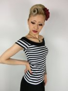 他の写真2: ☆Heart of Haute☆Marilyn Tee - Black/White Stripes (XS)7号