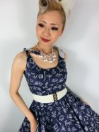 他の写真2: ☆HELL BUNNY☆Marin 50s Dress Navy 11号
