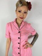 他の写真2: ☆Lindy Bop☆Avalon Pink Wiggle Dress 7号