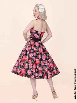 画像2: Vivien of Holloway Red Rose Dress Size20(17号)