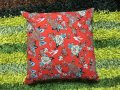 CUSHION COVER RED