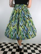 他の写真3: ☆Lindy Bop☆Abstract Annalise Green Skirt 11号