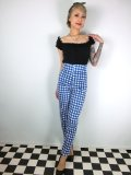 ☆Collectif☆Bonnie Painted Gingham Trousers 13号