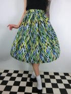 他の写真1: ☆Lindy Bop☆Abstract Annalise Green Skirt 13号