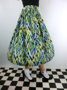 他の写真2: ☆Lindy Bop☆Abstract Annalise Green Skirt 11号