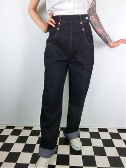 画像2: ☆Freddies of Pinewood☆  Rivet Jeans (32インチ) 15号