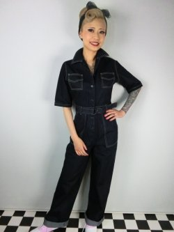 画像2: ☆Freddies of Pinewood☆1940s jumpsuit (28インチ) 11号