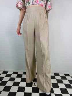 画像1: ☆HELL  BUNNY☆Honey Bear Trousers Beige 15号