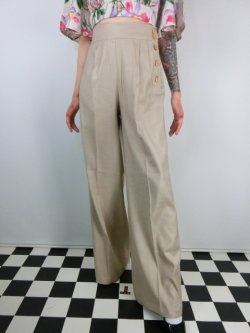 画像2: ☆HELL  BUNNY☆Honey Bear Trousers Beige 15号