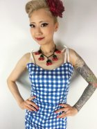 他の写真2: ☆Collectif☆Nancy Painted Gingham Pencil Dress  9号