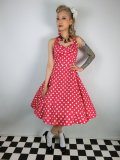 ☆Collectif☆Joanna Doll Dress Red 13号