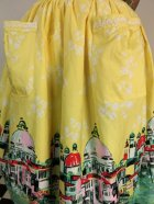 他の写真2: ☆Lindy Bop☆Contessa Yellow Venice Border Skirt 13号
