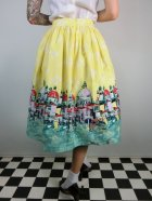 他の写真3: ☆Lindy Bop☆Contessa Yellow Venice Border Skirt 13号
