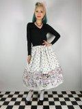 ☆Lindy Bop☆Praia Boutique Border Swing Skirt 11号