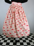 他の写真3: ☆Lindy Bop☆Praia Flamingo Print Swing Skirt 11号