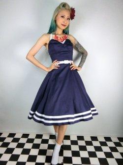 画像1: ☆Collectif☆ Ginger Sailor Wing Bust Doll Dress 13号