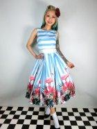 他の写真1: ☆Collectif☆Vanessa Striped Flamingo Dress 15号