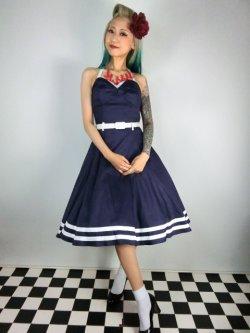 画像2: ☆Collectif☆ Ginger Sailor Wing Bust Doll Dress 13号