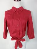 ☆Collectif☆ATOMIC STAR TIE BLOUSE  Red 17号