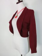他の写真2: ☆Collectif☆Jean Bolero Wine  XL〜2XL(17〜19号)