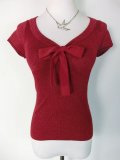 ☆HELL BUNNY☆Angette Top Red 11号