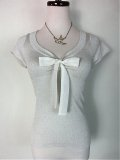 ☆HELL BUNNY☆Angette Top Silver 11号