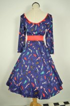他の写真3: ☆Collectif☆WILLOW PAPER PIN-UP DOLL DRESS 11号