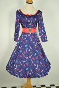 ☆Collectif☆WILLOW PAPER PIN-UP DOLL DRESS 11号