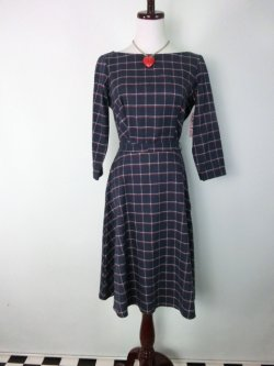 画像2: ☆Heart of Haute☆ Mitzi Dress  Windowpane Flannell (M)11号