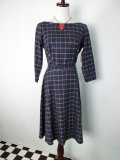 ☆Heart of Haute☆ Mitzi Dress  Windowpane Flannell (S)9号