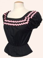 他の写真3: Vivien of Holloway Gypsy Top Black/Pink Trim SizeL(11号)