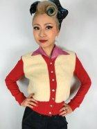 他の写真1: ☆Freddies of Pinewood☆1940s Cardigan Red (XL)15号