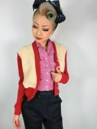 他の写真2: ☆Freddies of Pinewood☆1940s Cardigan Red (XL)15号