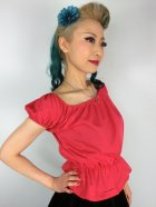 他の写真2: Vivien of Holloway Gypsy Top Red SizeM(9号)