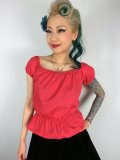 Vivien of Holloway Gypsy Top Red SizeL(11号)