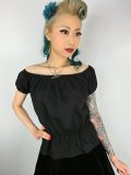 Vivien of Holloway Gypsy Top Black SizeXL(13号)