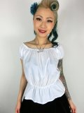 Vivien of Holloway Gypsy Top White SizeL(11号)