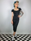 ☆Collectif☆MIMI BLACKWATCH PENCIL DRESS 15号