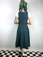 他の写真3: ☆Collectif☆ GERTRUDE 40S PLAIN OVERALLS DRESS Teal 9号