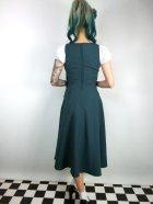 他の写真3: ☆Collectif☆ GERTRUDE 40S PLAIN OVERALLS DRESS Teal 15号