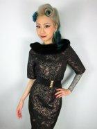 他の写真2: ☆Collectif☆ JULIETTE JACQUARD PENCIL DRESS 7号