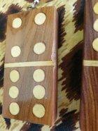 他の写真2: Dominoピアス  Wood クリームペイント(1)