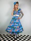☆Collectif☆ DOLORES FLAMINGO ISLAND DOLL DRESS  9号
