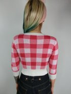 他の写真3: ☆Collectif☆LUCY GINGHAM CARDIGAN Red 13号